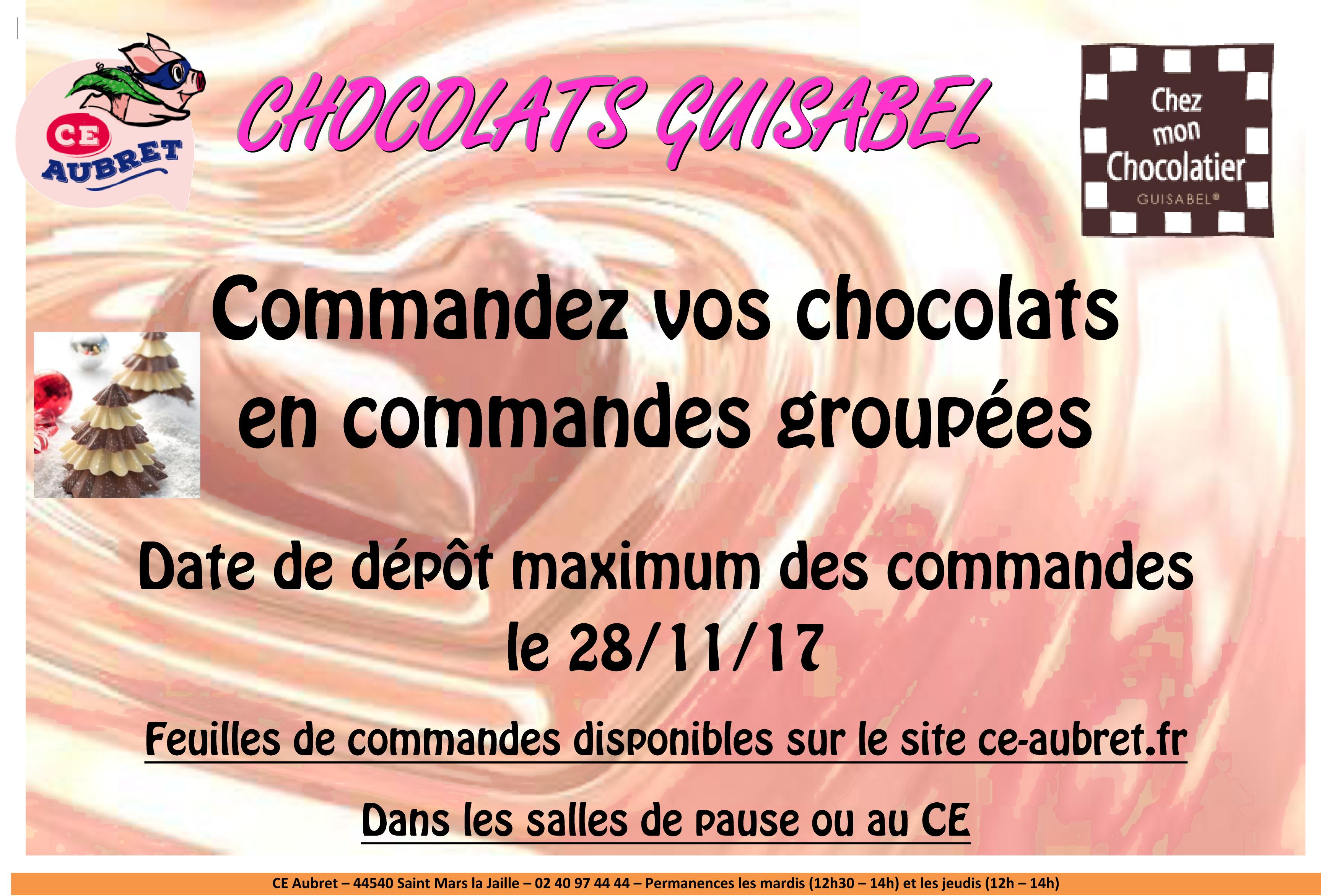 CHOCOLATS GUISABEL