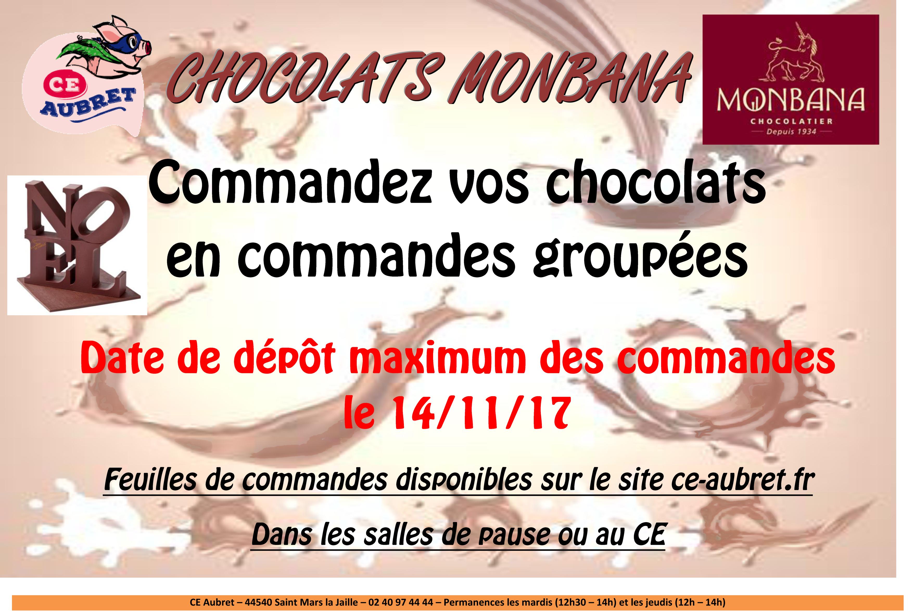 CHOCOLATS MONBANA