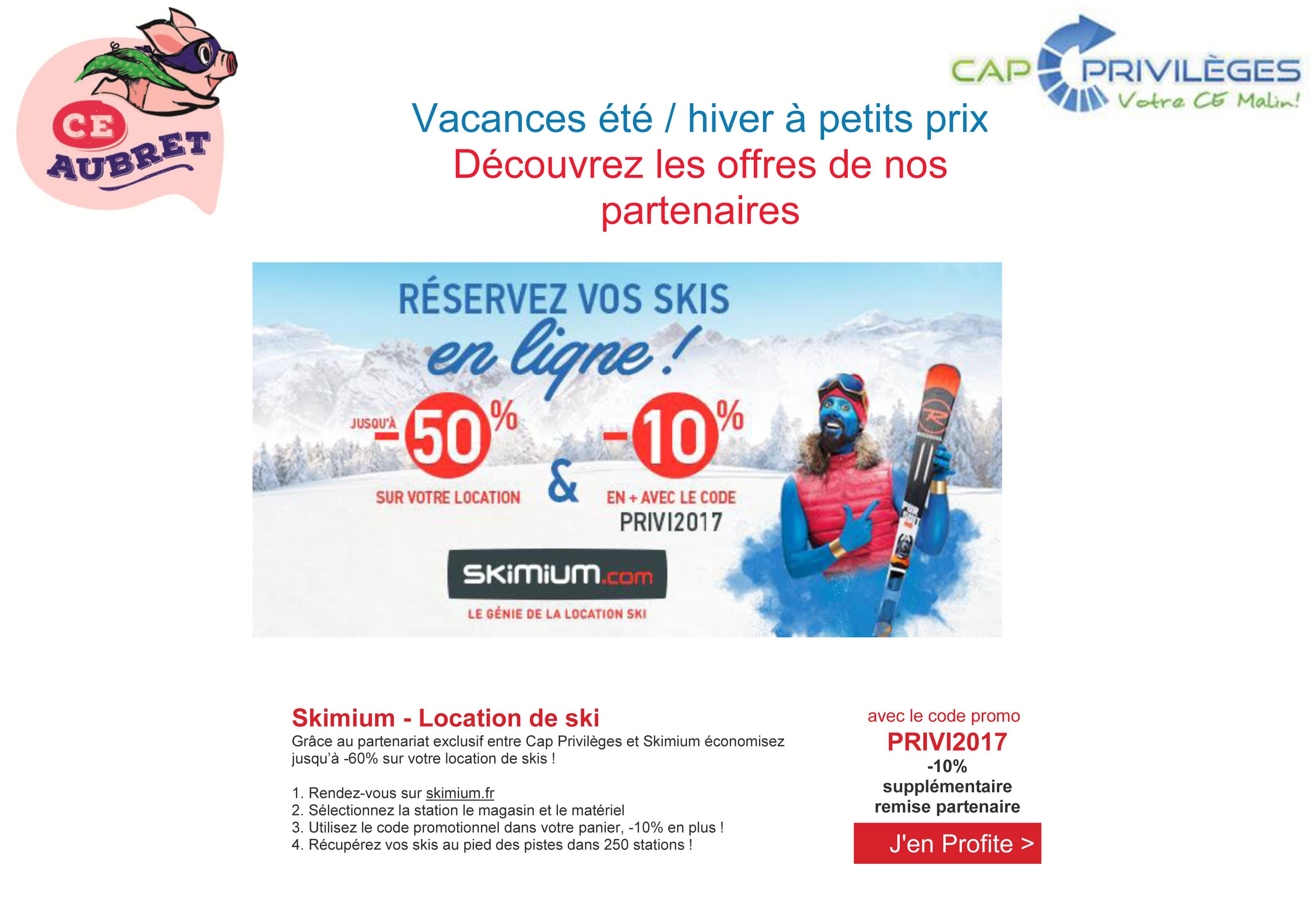 location ski cap privileges