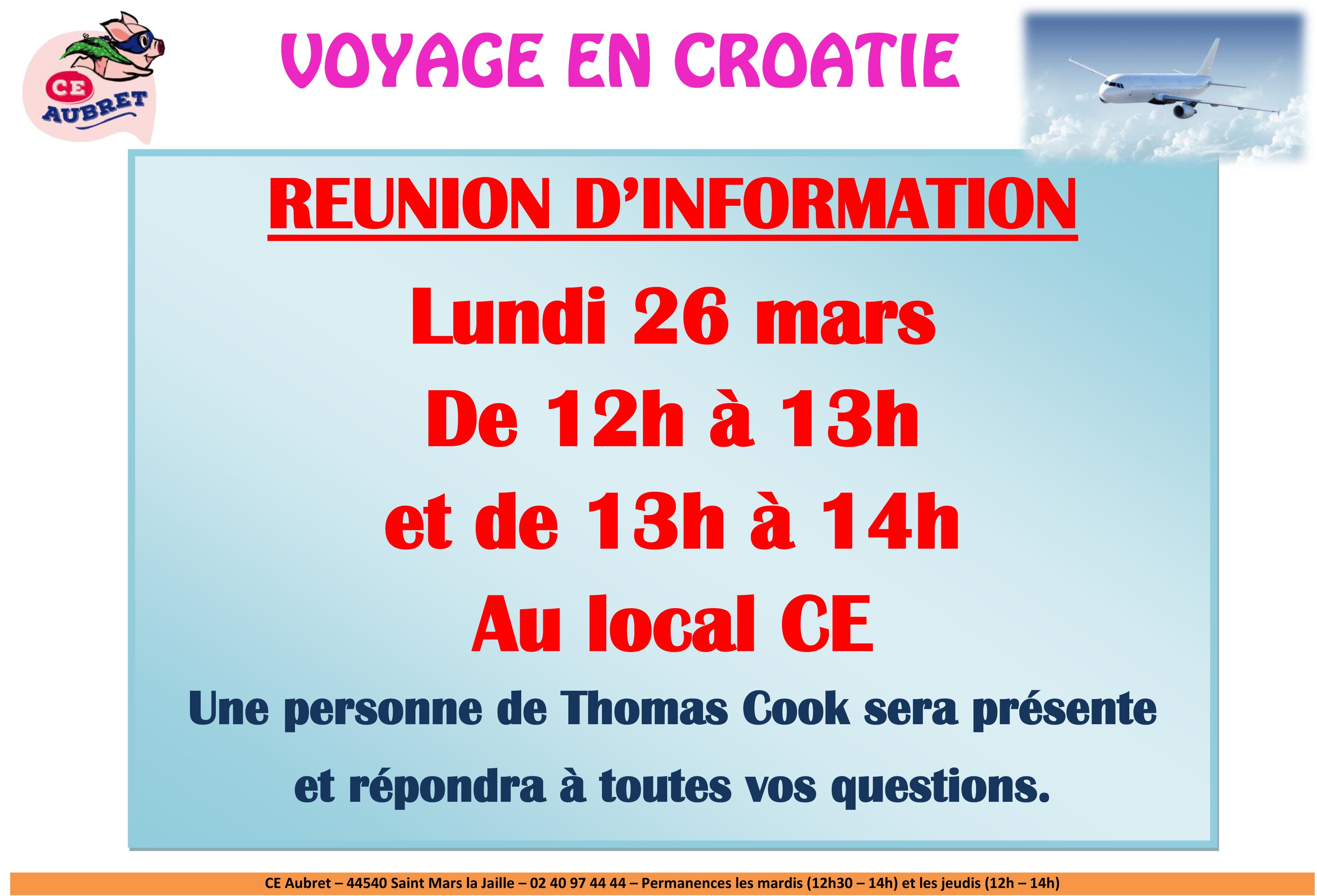 reunion information