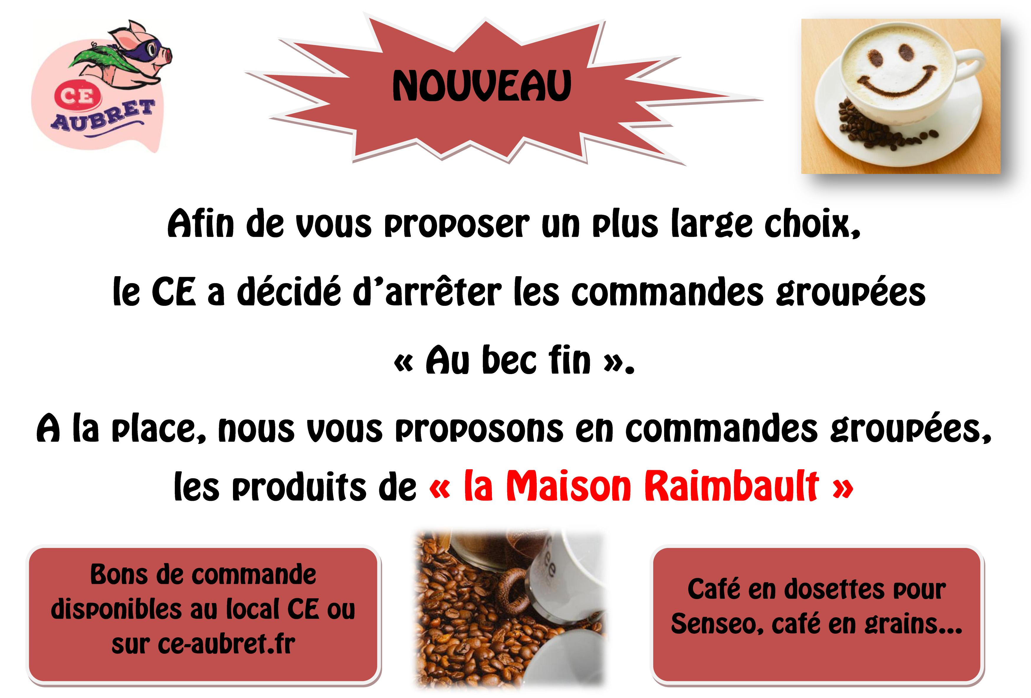 Affiche café raimbault