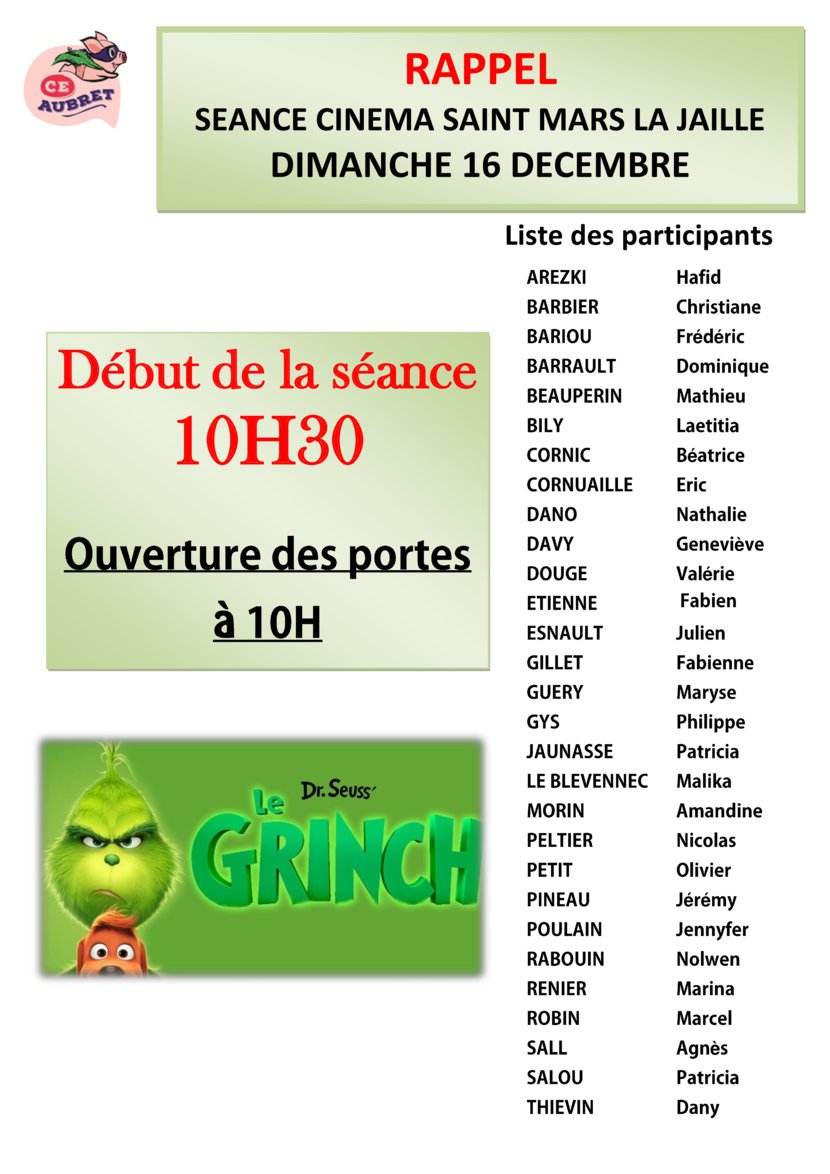 thumbnail of AFFICHE listing