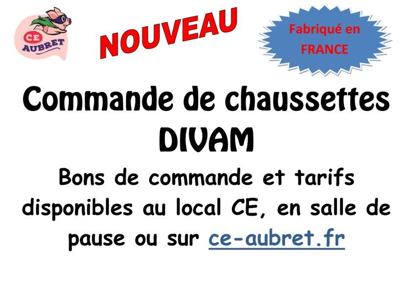 thumbnail of chaussette divam
