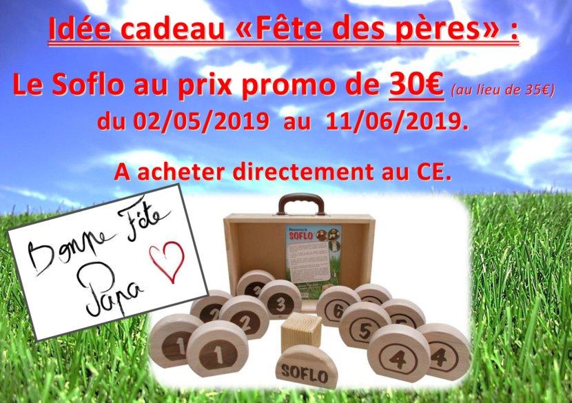 thumbnail of promo Soflo 2019 fêtes des pères