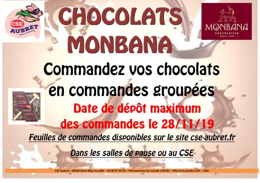 thumbnail of CHOCOLATS MONBANA