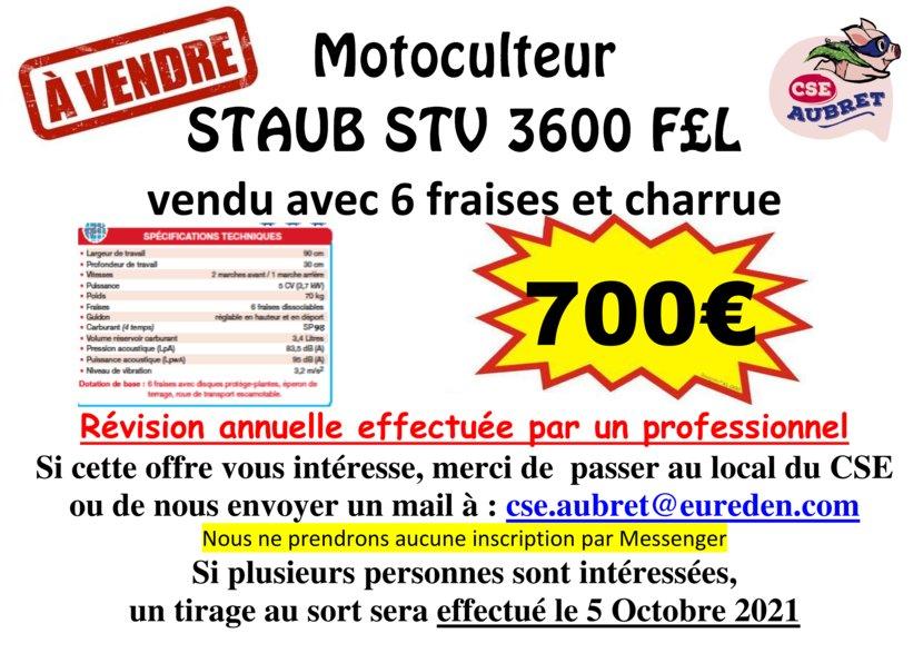 thumbnail of vente motoculteur