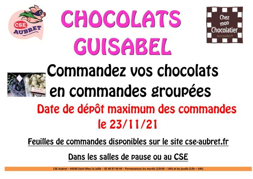 thumbnail of CHOCOLATS GUISABEL